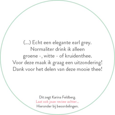 Beoordeling van Karina Feldberg over earl grey