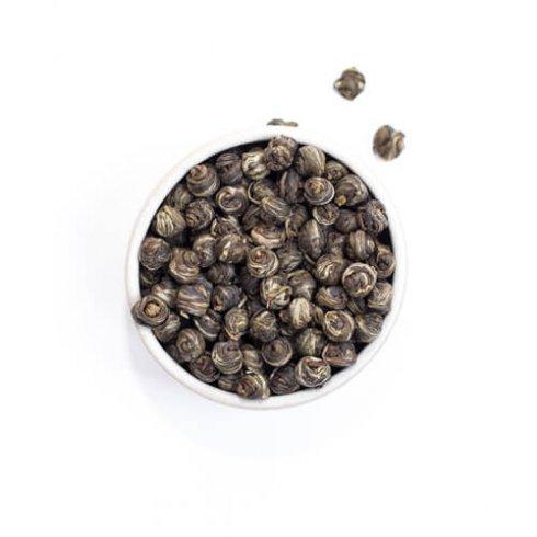 Jasmijn parels theebladeren biologisch van Mevrouw Cha