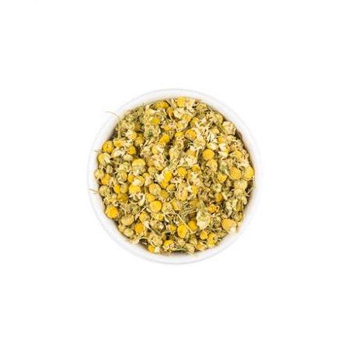 Kamille kruiden thee in een theekop