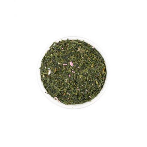 Sakura sencha theebladeren kersenbloesem thee