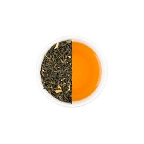 "Sanpin cha thee afkomstig van het Japanse eiland Okinawa wordt ""sanpin cha"" genoemd."