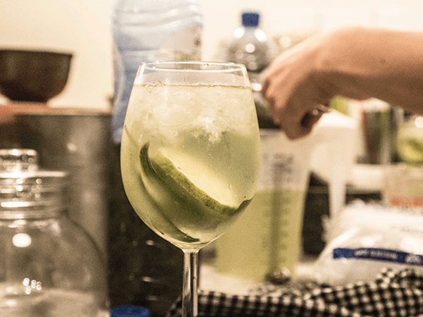 Thee recept Gin & Thee