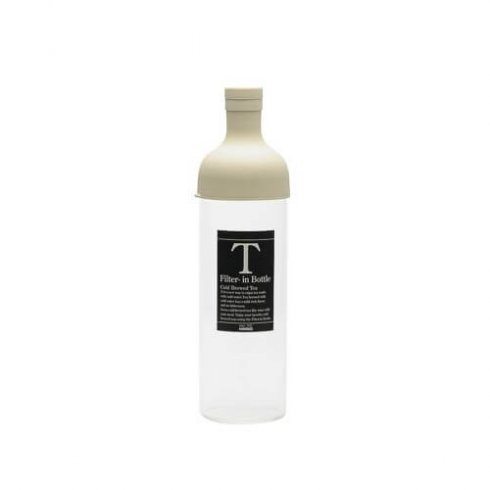 Hario ijstheefles off white ook bekend als filter in bottle 750ml