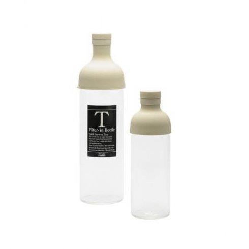 Hario ijstheefles off white ook bekend als filter in bottle 300ml en 750ml
