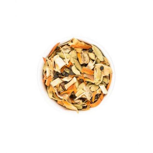 Balinese chai thee kruiden, biologisch, natuurlijke rood roze thee