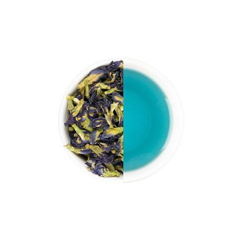 Blauwe kittelbloem thee uit Bali