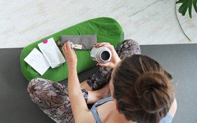 Een gezonde leefstijl met yoga en thee