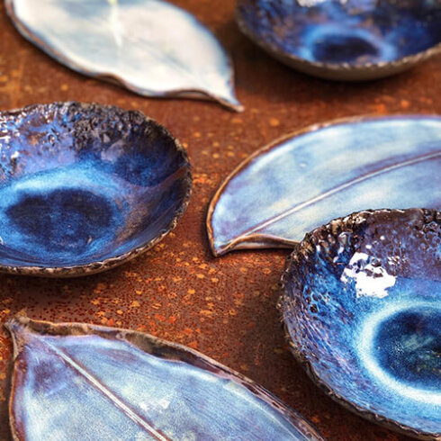 Diep bord 'Deep ocean' van Maravillas