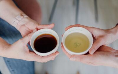 Ik houd van thee én van koffie!