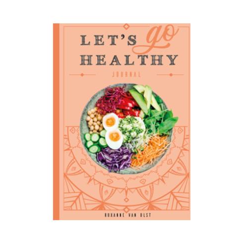 Let's go healthy journal | Boek in thee shop van MEVROUW CHA