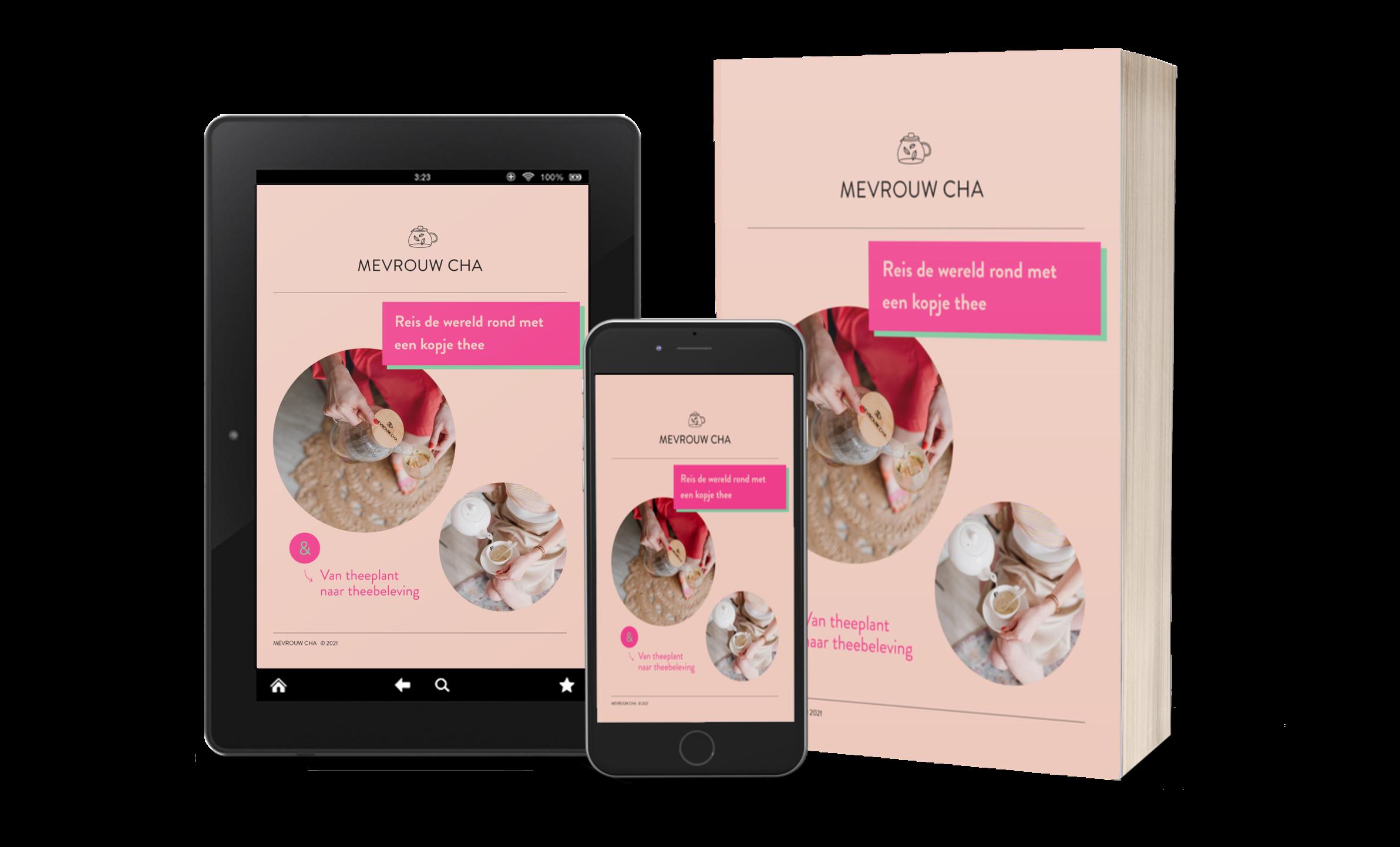 MEVROUW CHA e-book | De wereld rond met thee